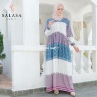 MOZA Home Dress bahan Rayon Viscose Gamis wanita kekinian premium