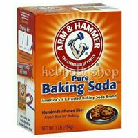 arm n & hammer hamer pure baking backing soda 454 gr USA | Soda bubuk