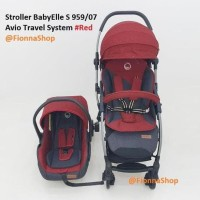 Kereta Bayi Stroller Babyelle S95907 Avio Rs Travel System Baby Elle