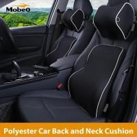 Mobeo Bantal Jok Mobil Penyangga Leher Punggung Polyester Neck Back