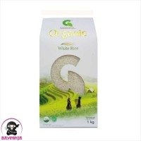 GASOL Organic Beras Putih White Rice Organik 1 kg