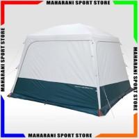 Tenda Camping QUECHUA ARPENAZ BASE FRESH SHELTER Dome Kemah 6-10 Orang