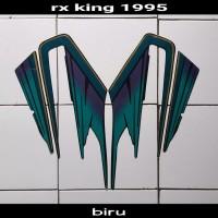 sticker motor rx king 1995 hijau