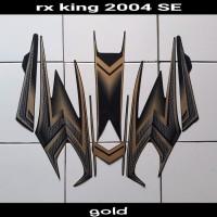 sticker motor rx king se 2004 gold