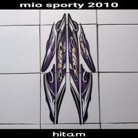 sticker motor mio sporty 2010 hitam