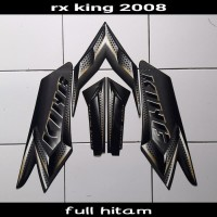sticker motor rx king 2008 hitam