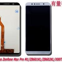 LCD TOUCHSCREEN AZUS ZENFONE MAX PRO M1-WHITE ORG - LCD TS AZUS