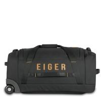 EIGER BORDER ROLLING DUFFEL 60L - Hitam, All Size