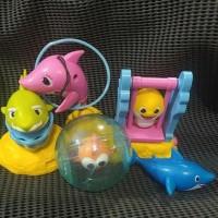 MURAH Mainan BABY SHARK hadiah Chaki kids meal K F C mcd Pinkfong