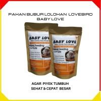 Pakan Love Bird Bubur Lolohan untuk Anakan Bayi Lovebird Hand Fooding