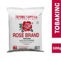 Tepung Tapioka Kanji Rose brand Rosebrand 500gr