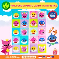 Pinkfong Korea Vitamin C Candy 10 pcs Pink Fong Baby Shark