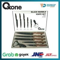 Pisau Set Oxone / Knife Set Oxone Black Marble Ox 605