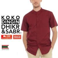 Baju Distro Pria Lengan Pendek Kantor Yusuf Dhikr & Sabr
