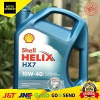 Ori Oli Shell Helix Hx7 Sae 10W-40 Galon 4 Liter