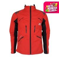 ORIGINAL Jaket Riding Pria Road Buster Arei Outdoorgear - Merah, M