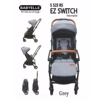 Terlaris! Stroller Baby Elle Kereta Bayi Babyelle S523 Rs Ez Switch