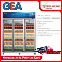 GEA SHOWCASE TRIPLE DOOR EXPO 1500AH/CN EXPO-1500AH/CN [1500 L] RESMI
