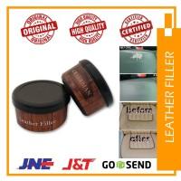 leather filler dempul kulit servis jok sepatu tas (leather repair kit)