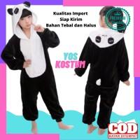 Kostum Lucu Anak Panda Import Baju Tidur Cosplay Animal Binatang Hewan