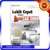 Bamboomedia CD Video Tutorial Lebih Cepat Dengan AutoCAD 2009