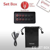 Sabbat E12 Set Box Eartips Pouch Cable Type C