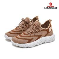 Larocking - Arrow Coklat | Sepatu Sneakers Running Gym Shoes