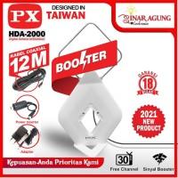 PX ANTENA DIGITAL IN/OUT DOOR HDA2000 HDA-2000 HDA 2000 - PUTIH