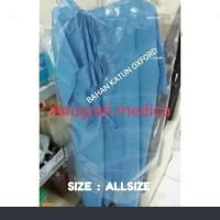 Baju Pasien /Baju Operasi/Baju Rumah sakit(Bahan katun oxford) Nyaman