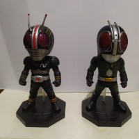 WCF Masked Kamen Rider Black & RX - Set 2 Original Bandai Banpresto