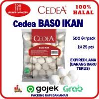 CEDEA Baso Ikan Besar 500gr / Bakso Ikan / Fish Meatballs