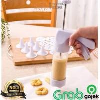 DEPATO Alat Cetak Kue Cookies Otomatis / Cetakan Kue Kering Biskuit