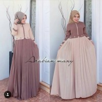 Arabian Maxi Dress Muslim