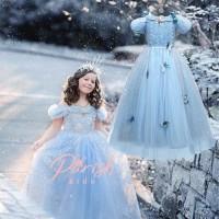 Jusyco Cinderella Sabrina Butterfly Dress