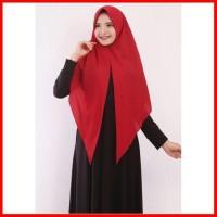 Segitiga Instan Alana Jumbo Jilbab Hijab Segi3 Syari Segi Tiga Kerudun