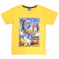 T Shirt / Kaos Anak Laki-laki Yellow / Kuning Donald Duck Fun - 4