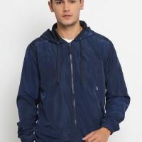Osella Baju Pria Jacket Hoody Navy Streetwear Division