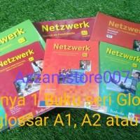Netzwerk A1 ,A2 dan B1 Buku Bahasa Jerman (Bonus Kamus)