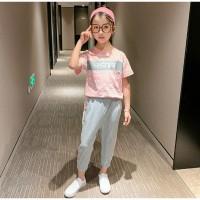Baju anak cewek perempuan olahraga sporty santay style