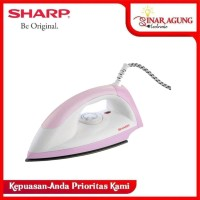 SHARP SETRIKA EI-N05 DRY ION ANTI LENGKET PINK