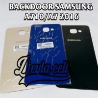 BACK DOOR SAMSUNG A710 - A7 2016 - TUTUP BELAKANG - BACK COVER