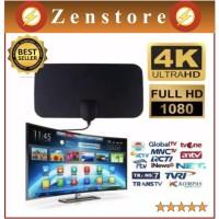 Antena Antene TV Digital Indoor Dalam Ruangan Mini DVB-T2 4K