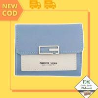 TSSM[COD] Dompet Wanita Wallet Import Dompet Fashion Korea MAKASSAR - D665, #3 UNGU