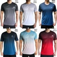 Kaos Olahraga Pria Adidas 6913 Baju Olah Raga Cowok Gym Fitness Runing - Hitam, XL