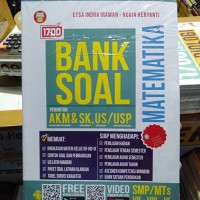 BUKU 1700 BANK SOAL MATEMATIKA KELAS 7 8 9 SMP