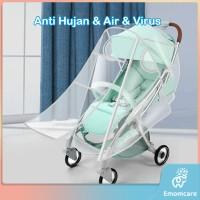 Stroller Cover Universal - Pelindung Kereta Bayi Anti Hujan,Air,Virus