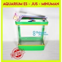 Aquarium Es Kelapa SEDANG  Aquarium Es Buah Box Es Kelapa