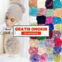 Promo termurah inner turkey/bandana rajut/ciput kaos/daleman hijab