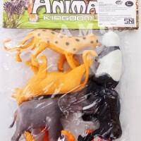 Mainan Hewan Karet Animal Kingdom Miniatur Binatang Plastik TM600