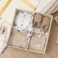 Newborn Gift Set 0-3 Month Baby Loop x Hello Mici